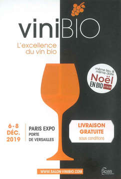 Salon ViniBIO à Paris